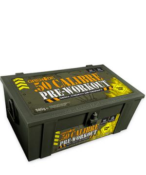 Grenade 50 CALIBRE AmmoBox Pre-Workout