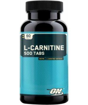 Optimum L - CARNITINE 500 TABS