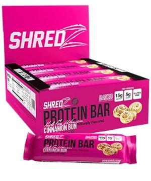 Shredz Protein Bars