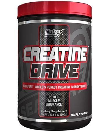المكمل الغذائي Nutrex Creatine Drive لكمال الاجسام قسم قبل وبعد التمرين 24protein Com